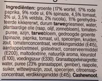Couscous falafel maaltijdsalade - Ingrediënten - nl