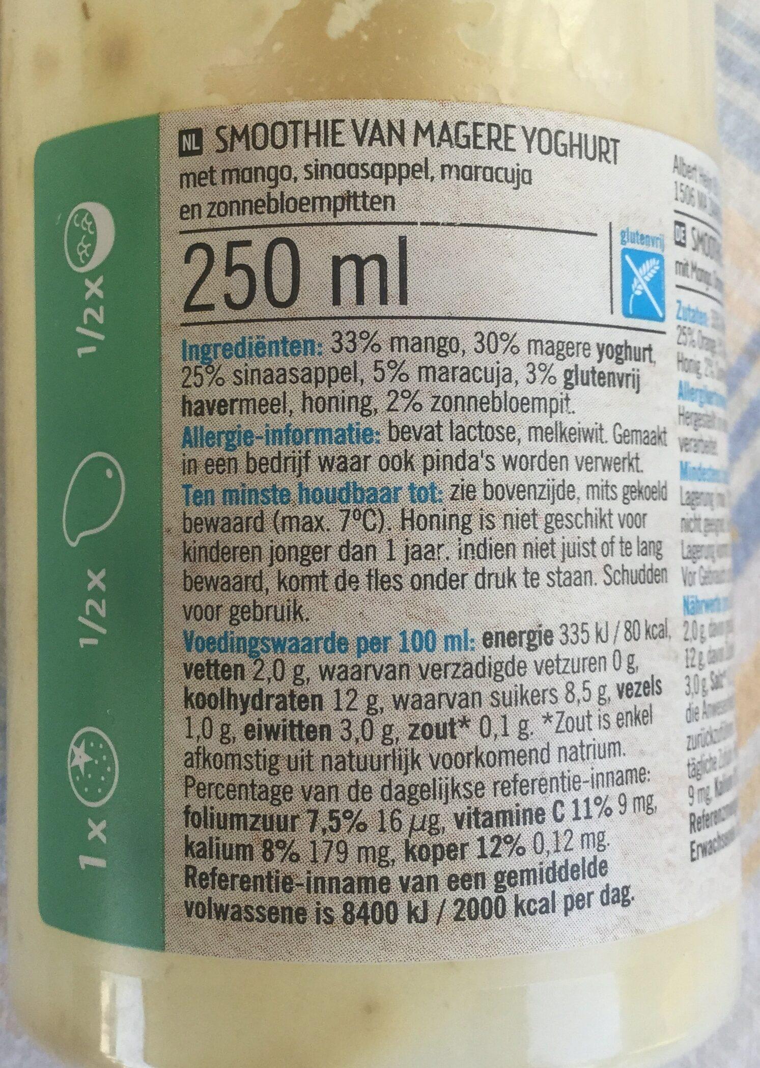 Smoothie van magere yoghurt - Product - nl