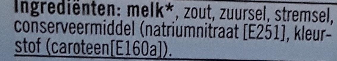 Plakken belegen 48+ - Ingredients - nl