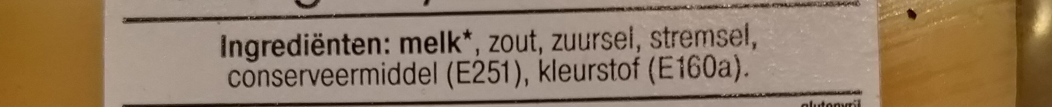 Belegen 30+ - Ingrediënten - nl