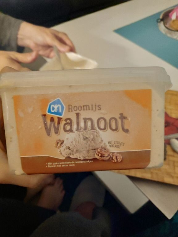 Walnoot roomijs - Product