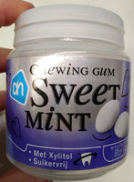 sweet mint chewing gum - Product