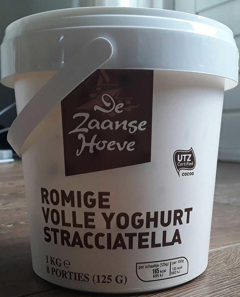 Romige volle yoghurt stracciatella - Product - nl