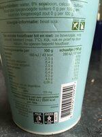 Soja Yochurt - Voedingswaarden - nl