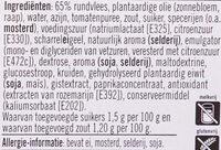 Filet Americain Mager - Ingredients - nl