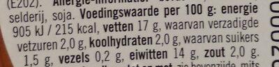 Filet Americain Mager - Voedingswaarden - nl