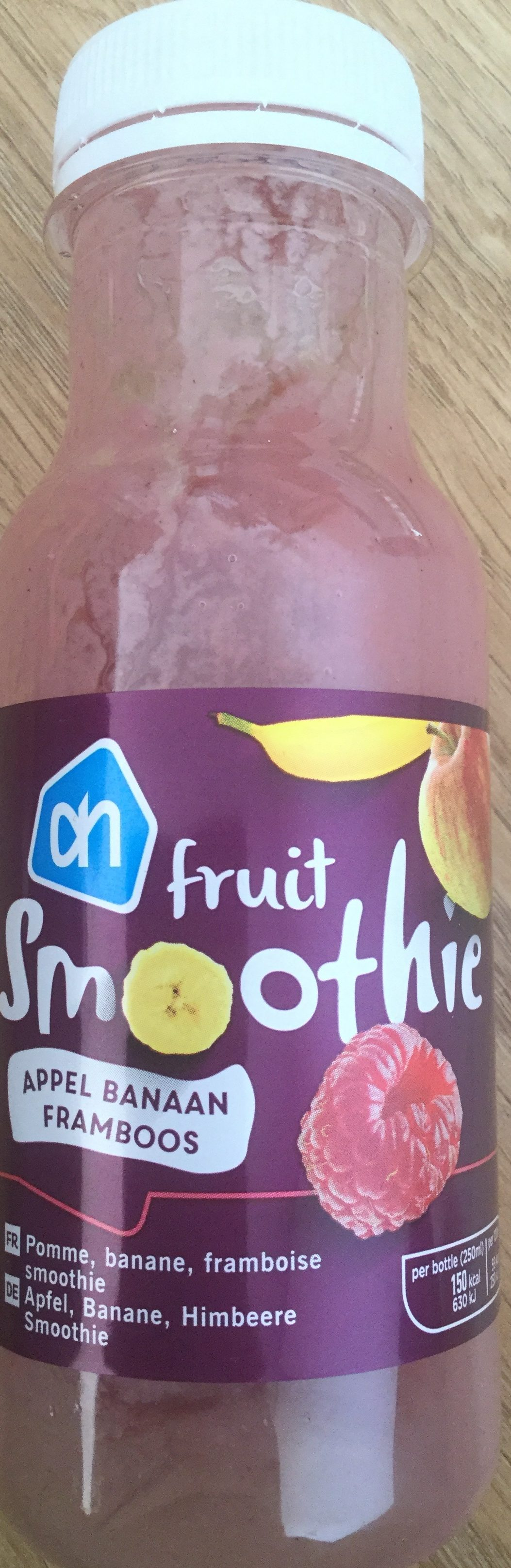 Fruit Smoothie appel banaan framboos - Produkt