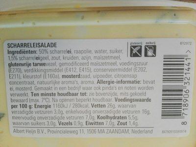 scharrelei salade - Nutrition facts - en