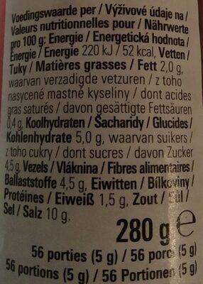 Sambal Oelek - Informations nutritionnelles - nl