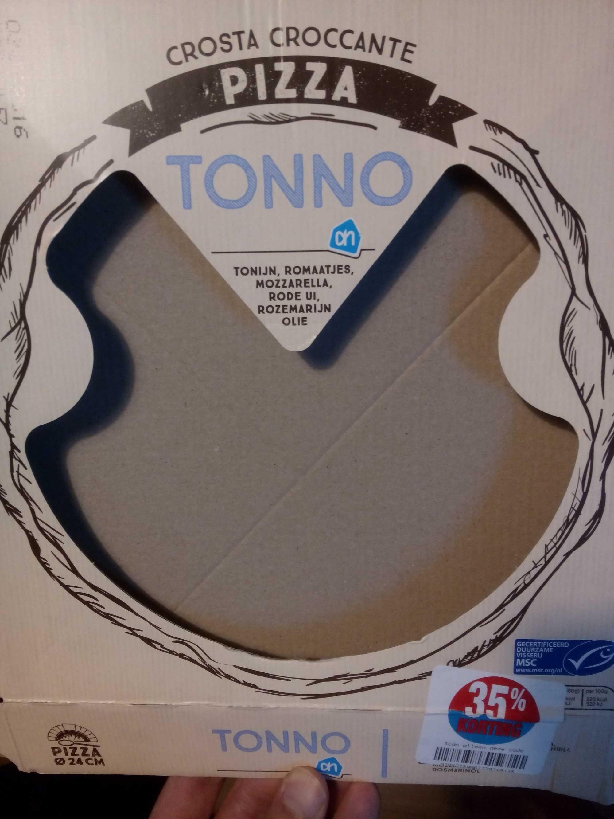 Crosta Croccante Pizza Tonno - Product - en