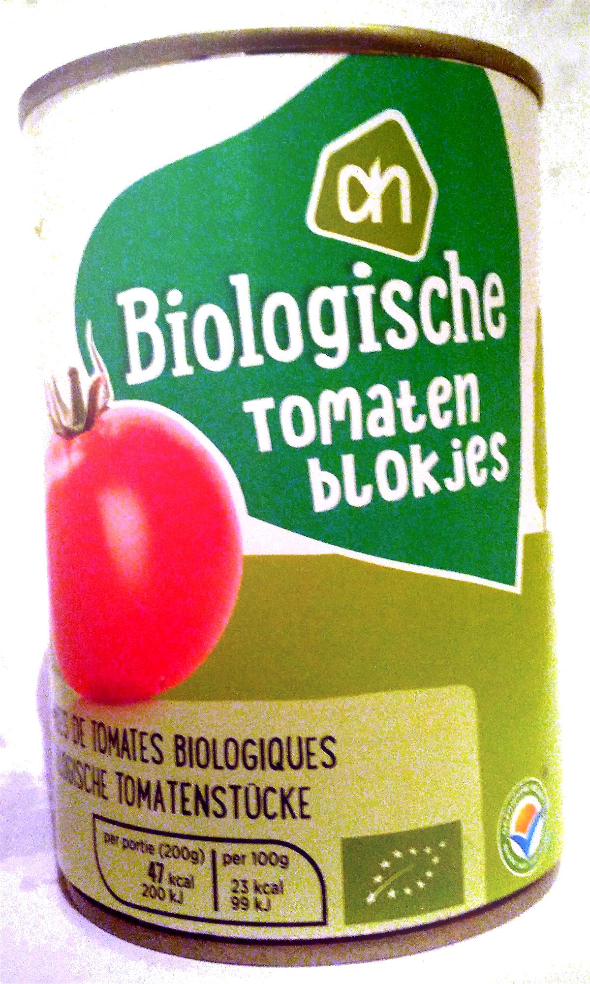 Biologische tomatenblokjes - Product - nl