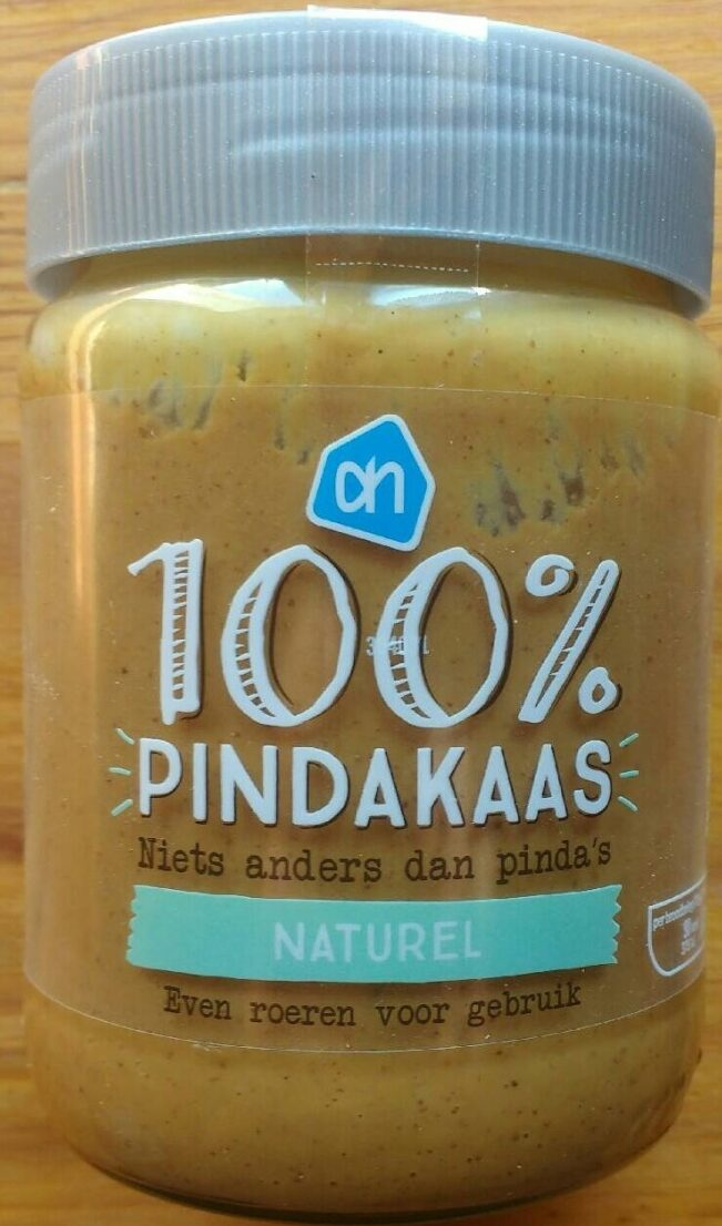 100% Pindakaas naturel - Prodotto - nl