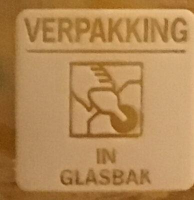 100% Pindakaas naturel - Istruzioni per il riciclaggio e/o informazioni sull'imballaggio - nl