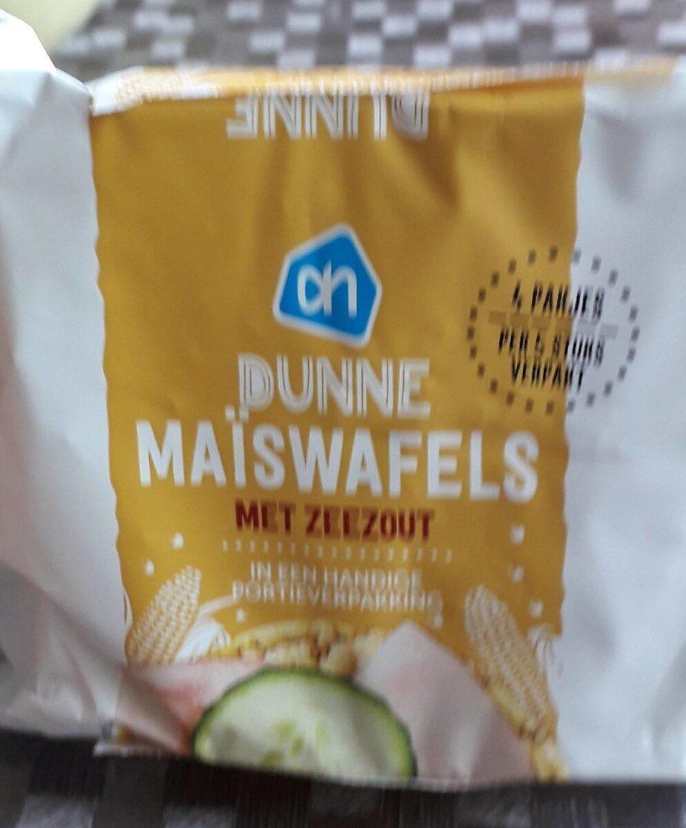 Maiswafel - Product