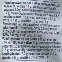 Ongebrande cashew noten - Ingrediënten