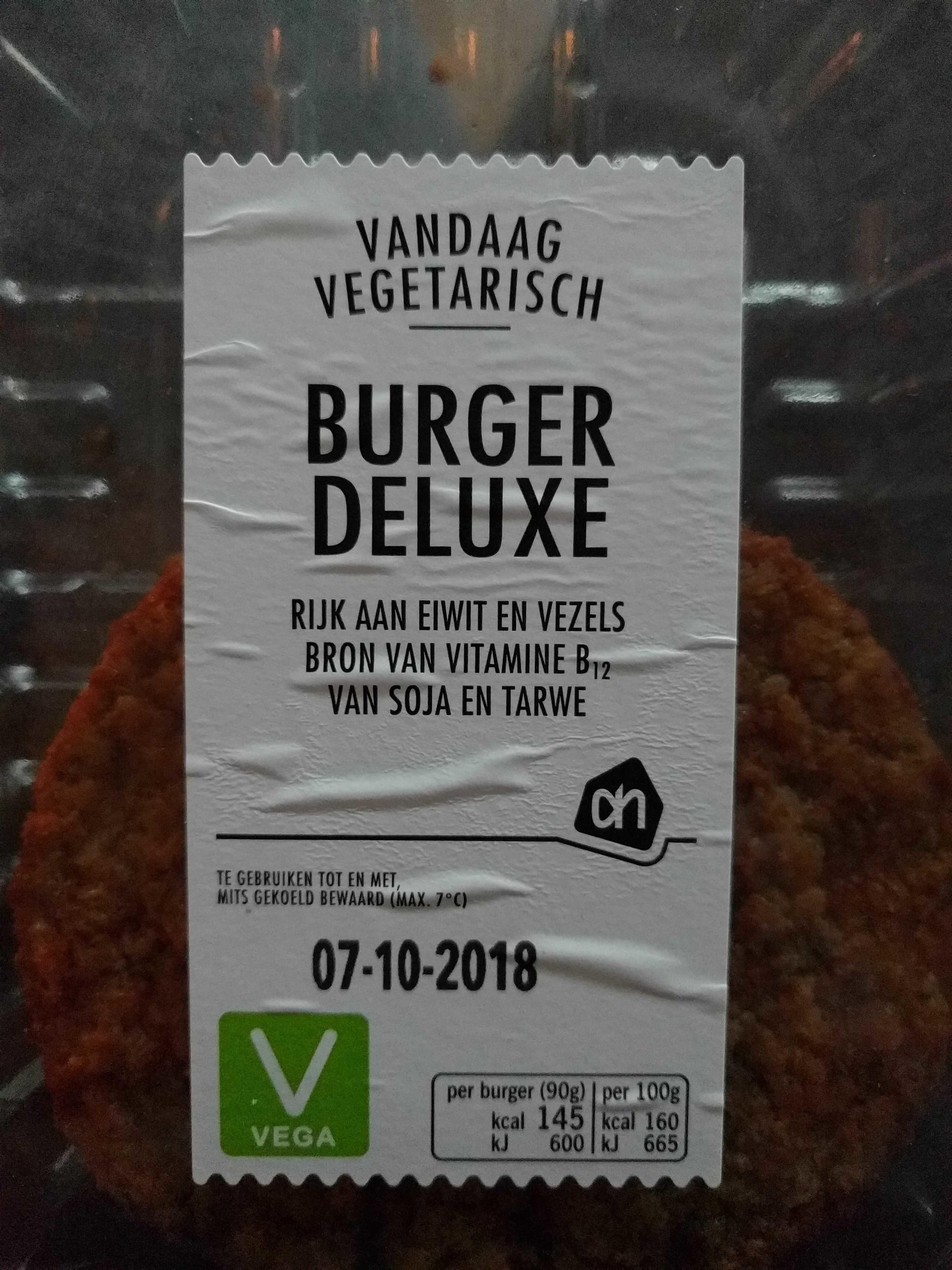 Burger deluxe vega - Producto