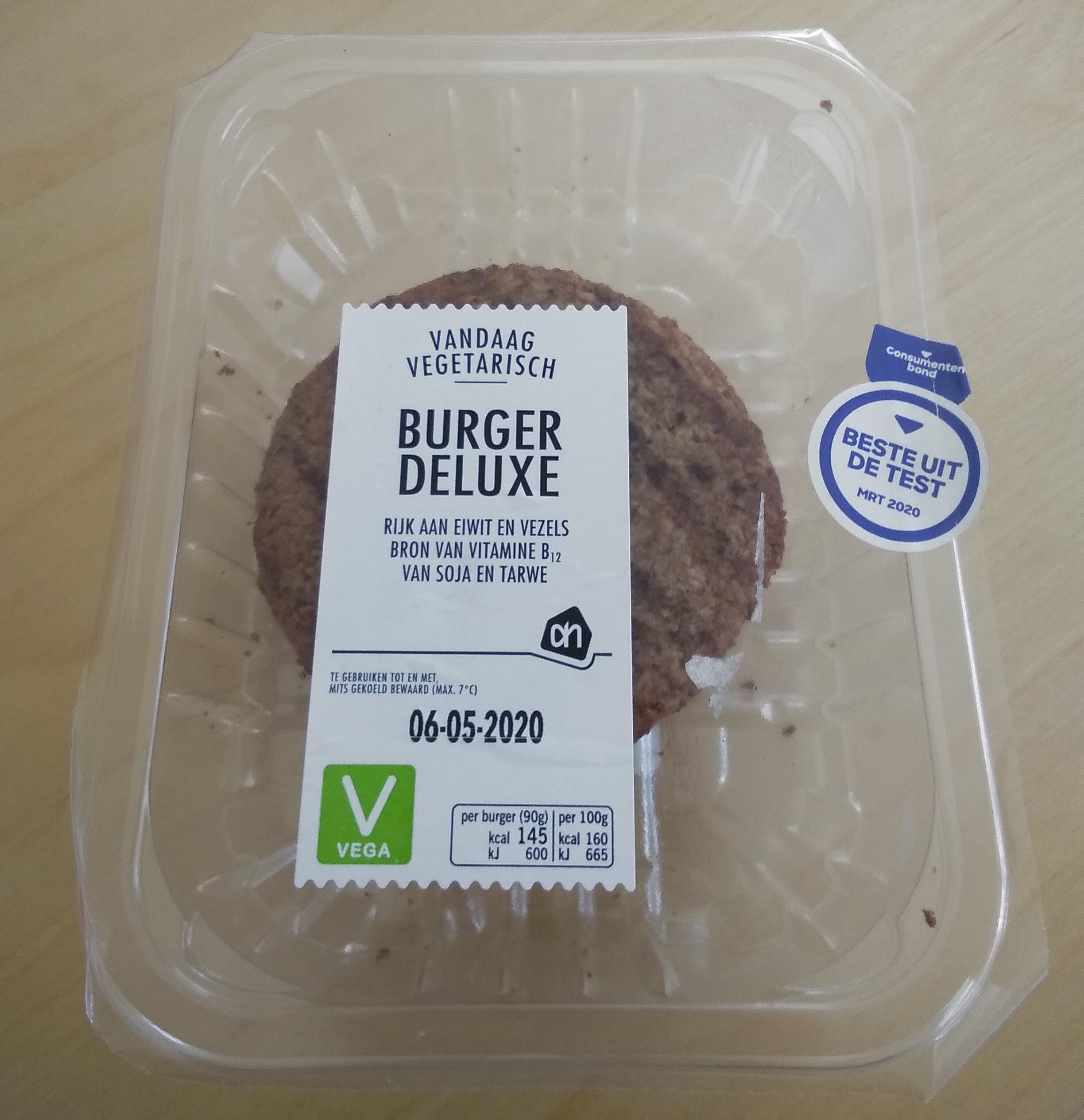 Vegetarische Burger Deluxe - Product - nl