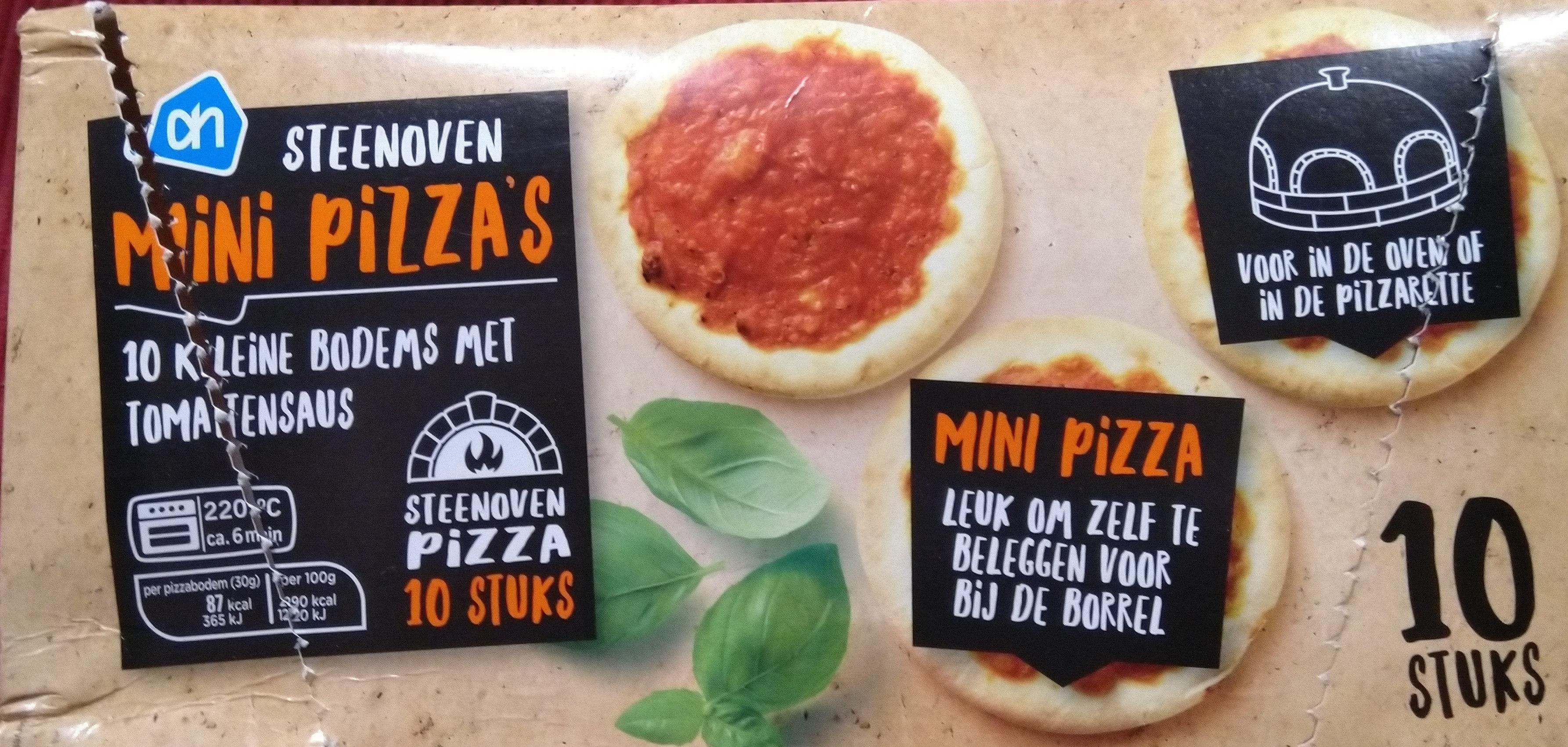 Steenoven Mini Pizza's - Product - nl
