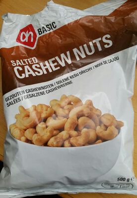 Gezouten Cashewnoten - Product