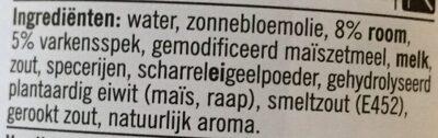 Pasta Saus - Ingredients - nl