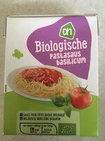 Biologische Pastasaus Basilicum - Product