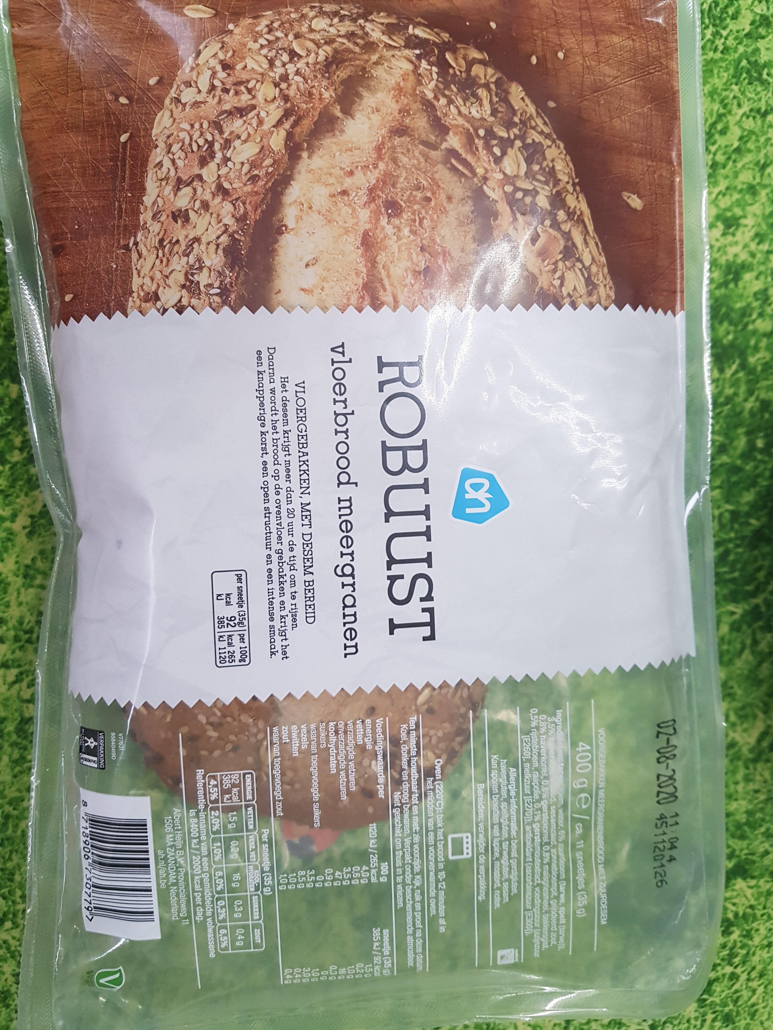 Robuust vloerbrood meergranen - Product - en