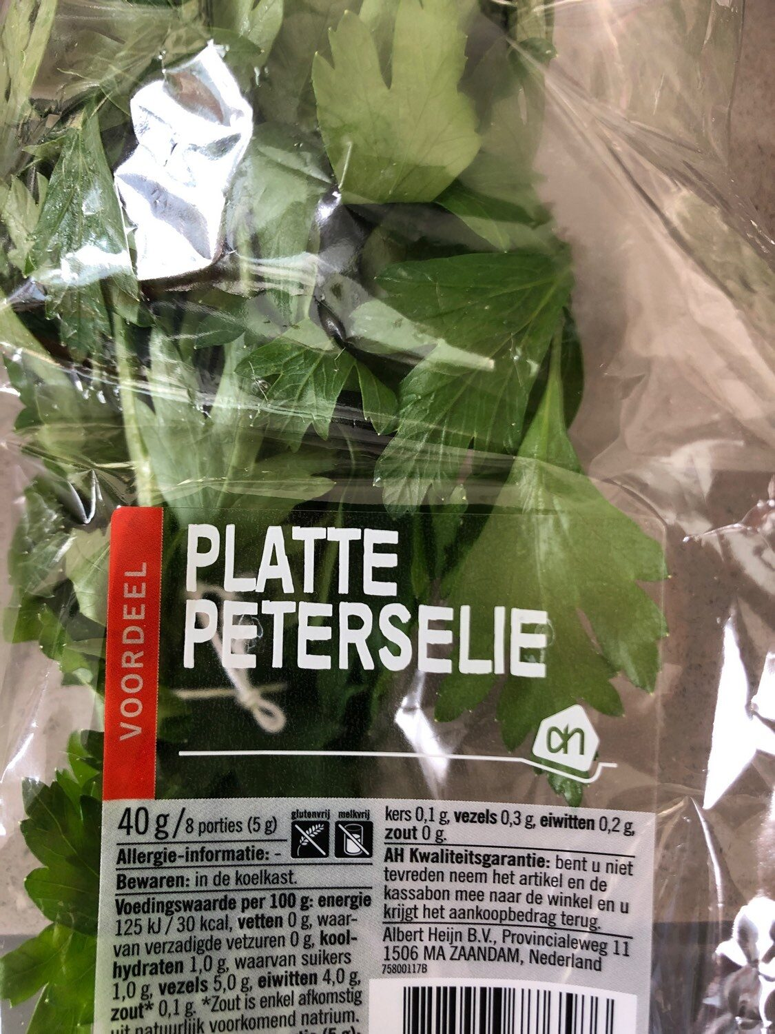 Peterselie - Product