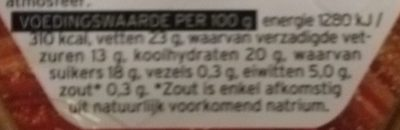 Pure Chocolademousse - Nutrition facts