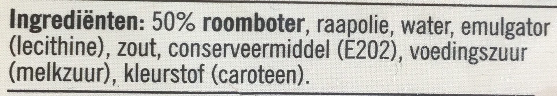 Roomboter - Ingredients - nl