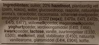 Mokkagebakjes - Ingrediënten - nl