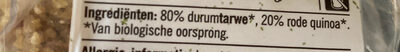 Bulgur & Quinoa - Ingredients