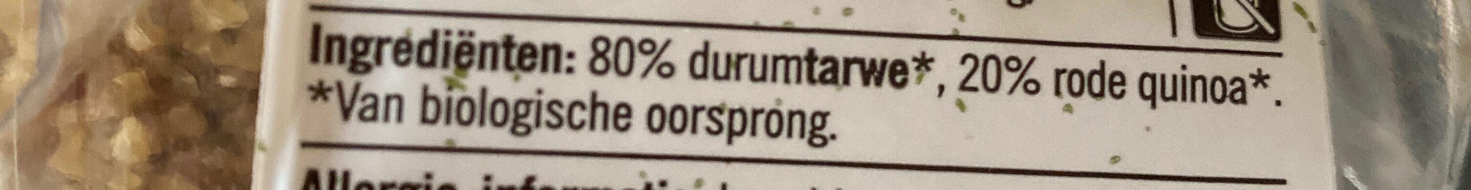 Bulgur & Quinoa - Ingredients - en
