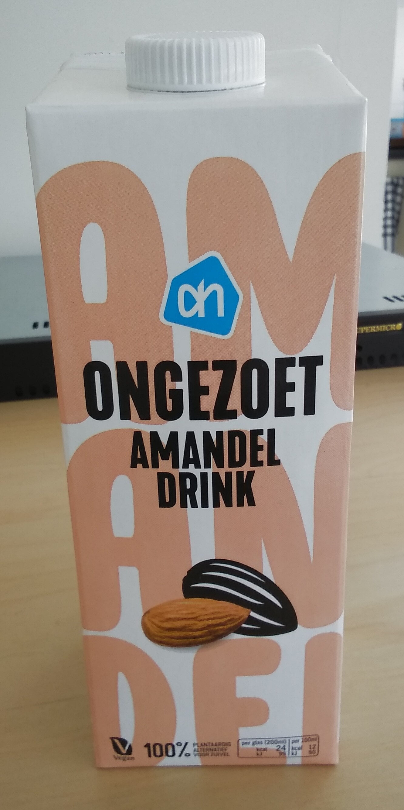 Amandel drink - ongezoet - Produit - fr