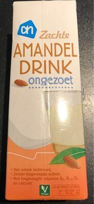Amandel drink - ongezoet - Product - nl