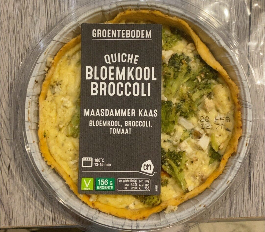 Quiche bloemkool broccoli - Product - nl