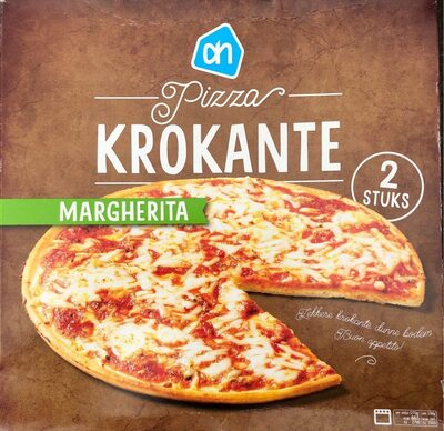 Krokante Pizza - Margherita - Product - fr