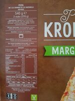Krokante Pizza - Margherita - Informations nutritionnelles - fr
