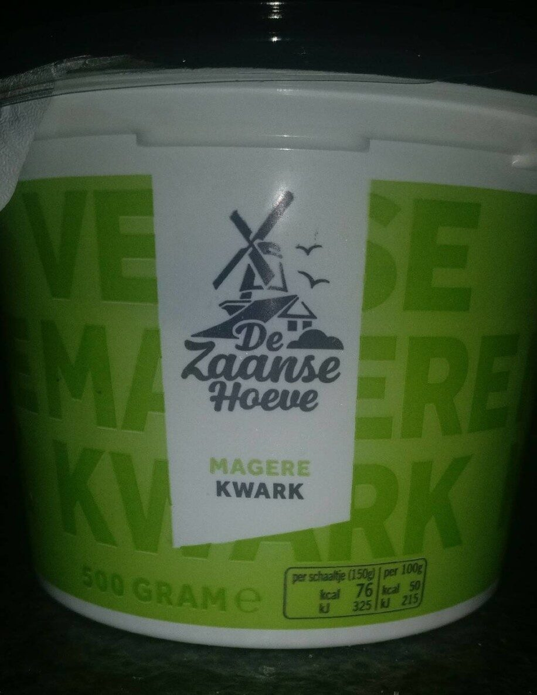 De Zaanse Hoeve Magere Kwark - Product - en