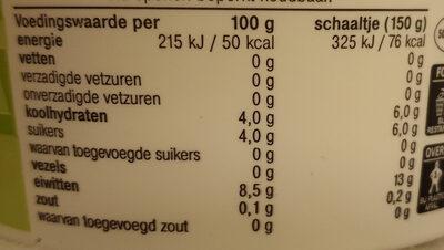 De Zaanse Hoeve Magere Kwark - Nutrition facts - en