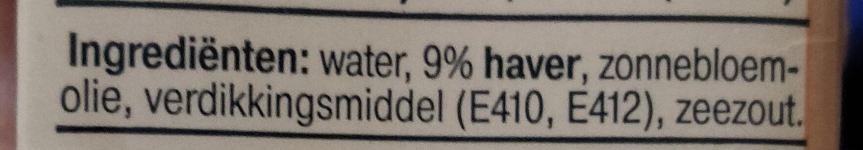 Haver Keuken - Ingredients - nl