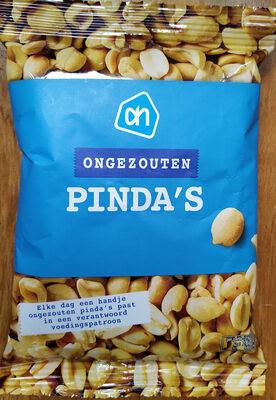 Ongezouten Pinda's - Product - nl
