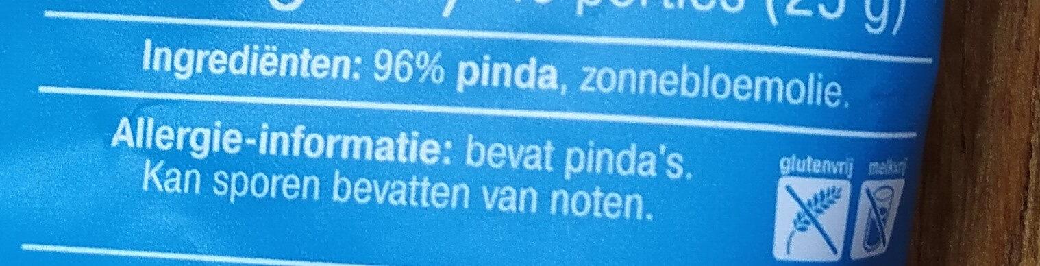 Ongezouten Pinda's - Ingredients - nl