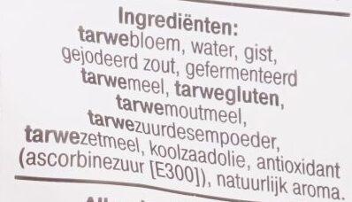 Kaiser Broodjes - Ingrediënten - nl