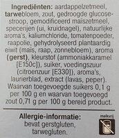 Krachtige jus Light - Ingrediënten - nl