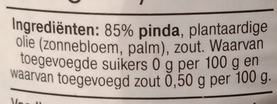 pindakaas - Ingredients - nl