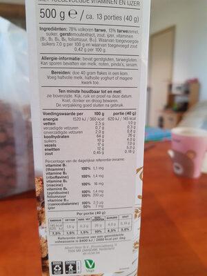 Bran Flakes - Ingrediënten