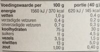 Special Flakes Rode Vruchten - Nutrition facts - nl
