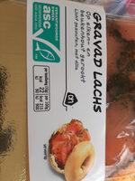 gravad lachs - Product - nl