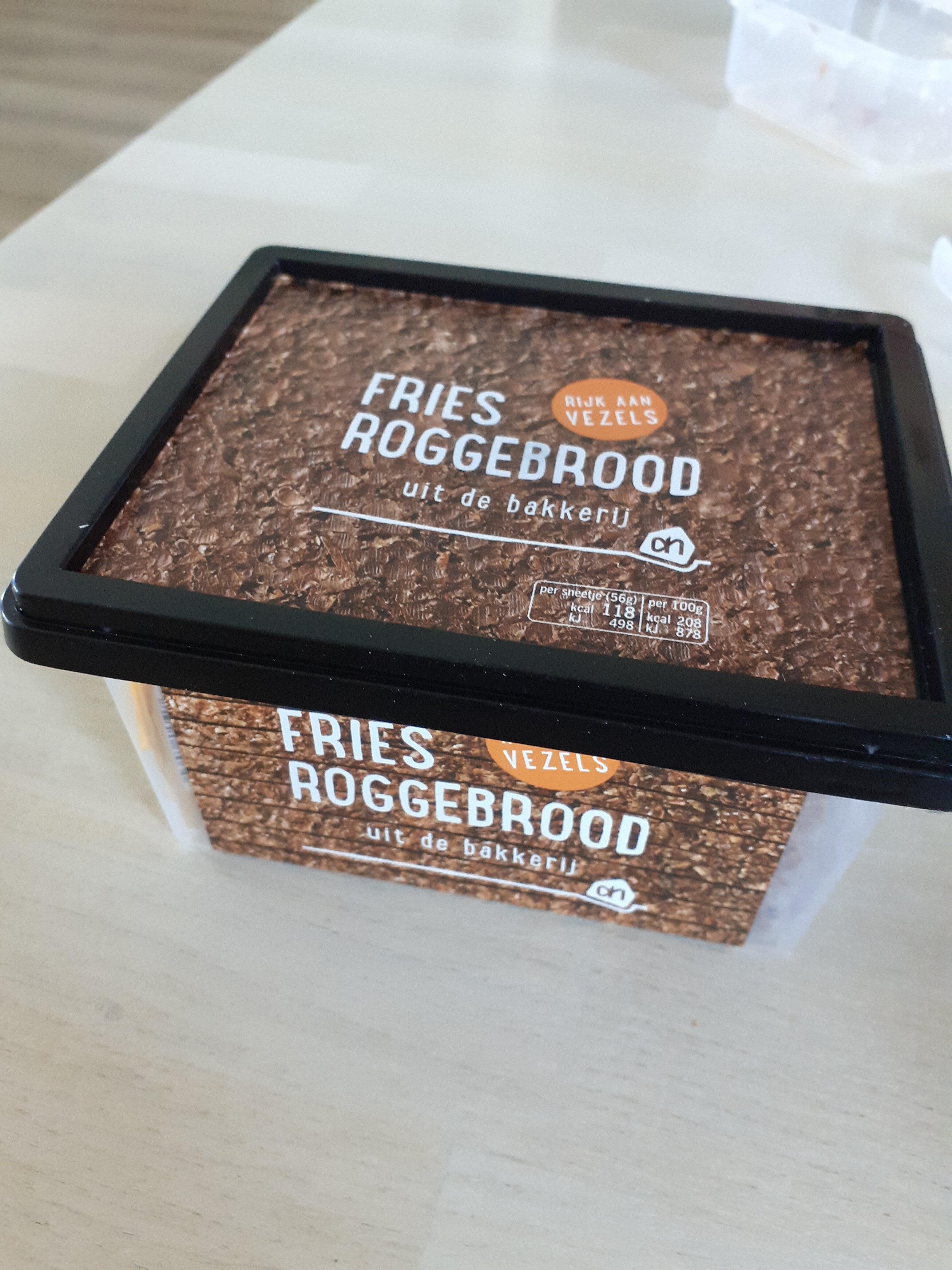 Fries roggebrood - Produit - nl