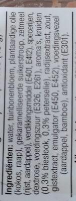 Vegan paté tuinkruiden - Ingredients - nl